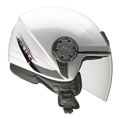 CASCO GIVI DEMI-JET 10.4F White