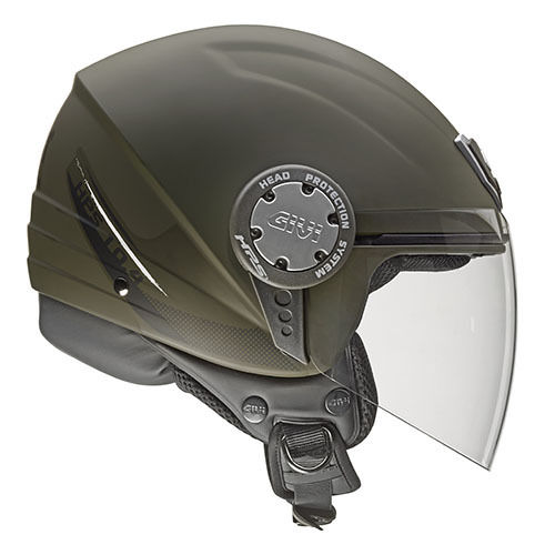 CASCO GIVI DEMI-JET 10.4F Military Green